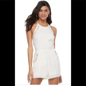 "NWT Candie's ""Festival"" Halter Romper"